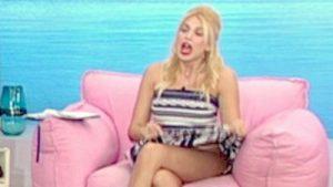 Κωνσταντίνα Σπυροπούλου φούστες μέχρι αφαλό