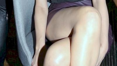 Δέσποινα Βανδή σταυροπόδια κοντές φούστες πόδια