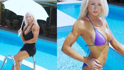 Άννυ Γιόκαλα γυμνασμένο στήθος