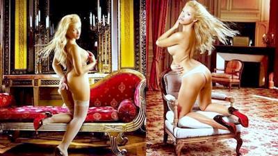 Λίλα Κυριαζοπούλου διαφημίζει σώμα