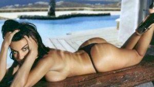 Ελίνα Καντζά ολόγυμνη περιοδικά & με μαγιό