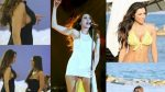 Η Πωλίνα Χριστοδούλου προβάλει το τεράστιο στήθος της