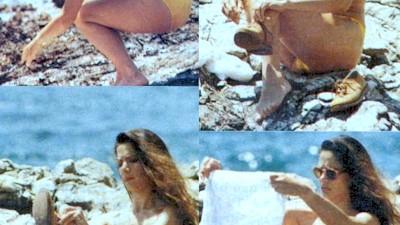 Λίλα Καφαντάρη γυμνόστηθη